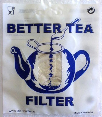 Better tea filter katoen